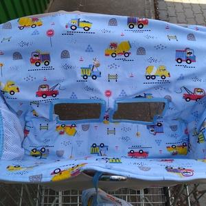 Bevásárlókocsi huzat Munkagépek állatokkal , Játék & Gyerek, 3 éves kor alattiaknak, Bevásárlókocsi huzat, Varrás, Meska