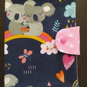 Egészségügyi kiskönyv borító Panda tesók, Játék & Gyerek, 3 éves kor alattiaknak, Varrás, Meska