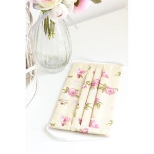 Arcmaszk szűrőtartóval szájmaszk dupla rétegű 100% pamut mosható vasalható újra használható, puha gumival elegáns rózsa, Táska, Divat & Szépség, Szépség(ápolás), Fürdőszobai kellék, Maszk, szájmaszk, Esküvő, Hajdísz, ruhadísz, Varrás, 3db Arcmaszk szűrőtartóval, szájmaszk dupla rétegű magas minőségű 100% pamut virág- és egyéb mintás ..., Meska
