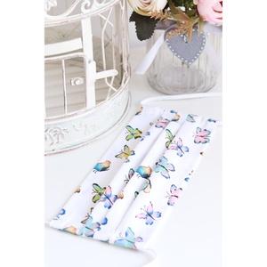 Arcmaszk szájmaszk 100% pamut mosható vasalható újra használható, puha gumival rögzíthető pillangós, Esküvő, Hajdísz, ruhadísz, Táska, Divat & Szépség, Szépség(ápolás), Maszk, szájmaszk, NoWaste, Textilek, Kendő, Varrás, Arcmaszk, szájmaszk magas minőségű 100% pamut virág- és egyéb mintás pamutvászonból. Mosható, vasalh..., Meska