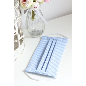Arcmaszk szűrőtartóval szájmaszk dupla rétegű 100% pamut mosható vasalható újra használható, puha gumival kék kockás, Otthon & lakás, Táska, Divat & Szépség, Szépség(ápolás), Maszk, szájmaszk, Egészségmegőrzés, Lakberendezés, Varrás, Arcmaszk szűrőtartóval, szájmaszk dupla rétegű magas minőségű 100% pamut virág- és egyéb mintás pamu..., Meska