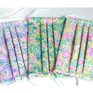 Arcmaszk szűrőtartóval szájmaszk dupla rétegű 100% pamut mosható vasalható újra használható puha gumival Henley piros (Varrazslat) - Meska.hu