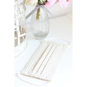 Arcmaszk szűrőtartóval szájmaszk dupla rétegű 100% pamut mosható vasalható újra használható, puha gumival homok pöttyös, Táska, Divat & Szépség, Esküvő, Szépség(ápolás), Fürdőszobai kellék, Maszk, szájmaszk, Hajdísz, ruhadísz, Arcmaszk szűrőtartóval, szájmaszk dupla rétegű magas minőségű 100% pamut virág- és egyéb mintás pamu..., Meska