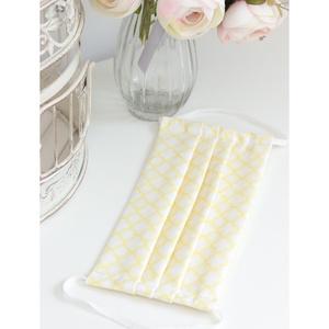 Felnőtt arcmaszk szűrőtartóval dupla 2 rétegű 100% pamut mosható vasalható újra használható fehér sárga, Maszk, Arcmaszk, Női, Varrás, Nagyon elegáns fehér alapon sárga mintás designer pamutvászon. Dupla (2) rétegű felnőtt szájmaszk 10..., Meska