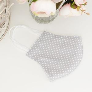 Kényelmes felnőtt maszk dupla 2 réteg pamut mosható vasalható újra használható puha gumival textil vilszü pöttyös, Maszk, Arcmaszk, Férfi & Uniszex, Varrás, Új design a megszokott magas minőségben! Arcra simuló 2 rétegű pamutvászon maszkok gyönyörű új színe..., Meska