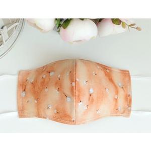 Akció! Kényelmes felnőtt maszk dupla 2 réteg pamut mosható vasalható újra használható puha gumival narancs virág, Maszk, Arcmaszk, Női, Varrás, Új design a megszokott magas minőségben! Arcra simuló 2 rétegű angol dizájner pamutvászon maszk gyön..., Meska