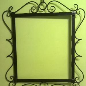 kovácsoltvas tükör keret, Otthon & Lakás, Lakberendezés, Kovácsoltvas, kovácsoltvas tükör keret, Meska