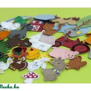 Farm kollekció - 30 db mágneses játék, Játék & Gyerek, Szerepjáték, Kollekciónk egyik csomagja a FARM melyben az alábbi figurák találhatóak meg :  ( bárány, béka, cica,..., Meska