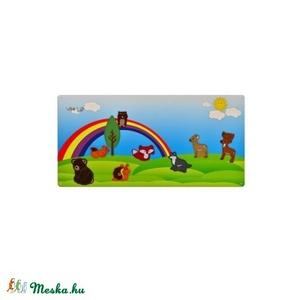 Erdő kollekció - 10 db mágneses játék + fémtábla, Szerepjáték, Játék & Gyerek, Hímzés, Mindenmás, Kollekciónk egyik csomagja ez a 10 darabból álló, ERDEI állatokat tartalmazó csomag, melyhez tartozi..., Meska