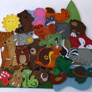 Erdő kollekció - 30 db mágneses játék, Játék & Gyerek, Szerepjáték, Kollekciónk egyik csomagja az ERDŐ melyben az alábbi figurák találhatóak meg : bagoly, béka, borz, c..., Meska
