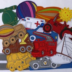 Járművek kollekció - 15 darab mágneses játék, Játék & Gyerek, Autó & Motor, Plüssállat & Játékfigura, Kollekciónk egyik csomagja a JÁRMŰVEK melyben az alábbi mágneses játékok találhatóak meg : autó, aut..., Meska