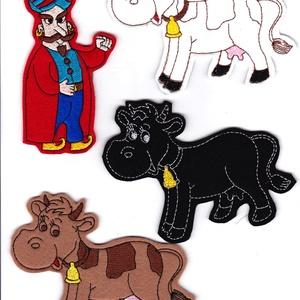 A török és a tehenek készlet - mágneses figurák, Játék, Gyerek & játék, Varrás, Kínálatunkban most már ismert mesék, mondókák figuráit is megtaláljátok., melyekkel garantált a szór..., Meska