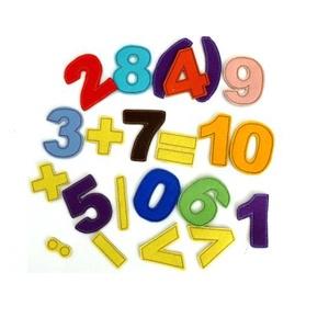 Számsor mágneses játék, Készségfejlesztő & Logikai játék, Játék & Gyerek, Mindenmás, Varrás, Kollekciónk egyik darabja ez a színes számsor, melynek hátlapja szintén rugalmas mágnes. A számsorra..., Meska