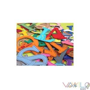 Figurás ABC - 26 db mágneses betű, Gyerek & játék, Játék, Készségfejlesztő játék, Mindenmás, Varrás, Kollekciónk egyik darabja az ABC betűit tartalmazza, amely filcből és rugalmas mágnesből készült. A ..., Meska