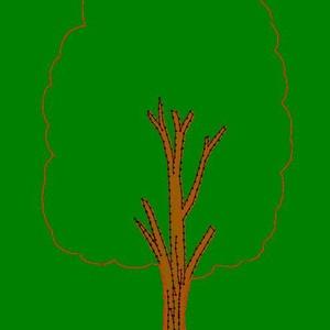 Farm kollekció (15 db figura) + 1 db királyság fémtábla + 1 db lombos fa (Vavilokids) - Meska.hu