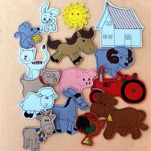 Farm kollekció - 15 db mágneses játék, Játék & Gyerek, Szerepjáték, Kollekciónk egyik csomagja a FARM melyben az alábbi figurák találhatóak meg :  ( bárány, cica, egér,..., Meska