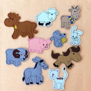 Farm kollekció - 10 db mágneses játék, Játék & Gyerek, Plüssállat & Játékfigura, Kollekciónk egyik csomagja a FARM melyben az alábbi figurák találhatóak meg :  ( bárány, cica, egér,..., Meska