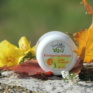 Körömvirág balzsam árnika kivonattal, Táska, Divat & Szépség, Szépség(ápolás), Kozmetikum, Egészségmegőrzés, Gyerek & játék, Kozmetikum készítés, 30 ml\n\nA körömvirág egy mindenki által ismert kiváló gyógynövény, mely sikeresen alkalmazható kiegés..., Meska