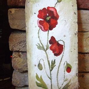 Festett gyógynövényes cserepek, Akril, Festmény, Művészet, Festett tárgyak, Minden növény magában hordozza a tökéletességet, legyen bár egy törékeny pipacs, vagy egy szép kövér..., Meska