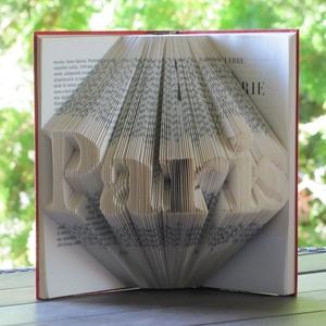 Könyvszobrászat  Paris  Rögtön vihető!, Könyvszobor, Dekoráció, Otthon & Lakás, Papírművészet, Újrahasznosított alapanyagból készült termékek, Közeledik egy születésnap és egy különleges, egyedi, maradandó ajándékot szeretnél? Akkor lepd meg s..., Meska