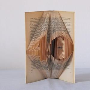 """Könyvszobrászat  számok \""""40\"""" Rendelésre!, Otthon & lakás, Lakberendezés, Dekoráció, Dísz, Papírművészet, Újrahasznosított alapanyagból készült termékek, Közeledik egy Születésnap, Házassági évforduló\nés valami egyedit, különlegeset szeretnél?\n\nAkkor itt..., Meska"""