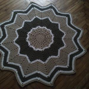 Csillag horgolt szőnyeg (Very) - Meska.hu