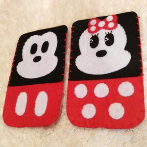 Mickey és Minnie Mouse páros telefontok  (Victoriaqueen92) - Meska.hu