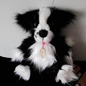 Border collie plüss kutya egyénre szabva azaz saját házikedvencedre , Otthon & lakás, Gyerek & játék, Játék, Plüssállat, rongyjáték, Varrás, Gyurma, Ezeket a cuki Border collie kutyusokat rendelésre készítettem, de szívesen elkészítem neked is, egyé..., Meska