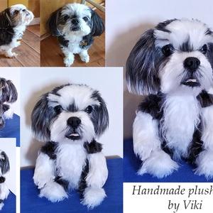 Kép alapján készülő kutyamás/ kutya hasonmás plüss/ jópofa plüssfigura (Victoriaqueen92) - Meska.hu