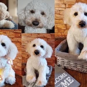 Kutyamás plüss készítés/ saját kép alapján készülő kutya hasonmás plüss/ születésnapra, névnapra, Otthon & lakás, Gyerek & játék, Játék, Plüssállat, rongyjáték, Varrás, Gyurma, Bármilyen kutyafajtát el tudok készíteni, de rendelés előtt kérlek küldj képet a kutyusról egyezteté..., Meska