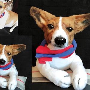 Kép alapján készülő kutya portré plüss/ kutya hasonmás, Gyerek & játék, Játék, Otthon & lakás, Egyéb, Mindenmás, Varrás, Neked csak annyi a dolgod, hogy küldj nekem pár jó minőségű képet a kutyusodról! :)\n\nFONTOS!! Kérlek..., Meska