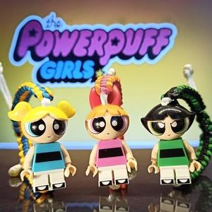 Powerpuff Girls Minifig karkötő, Karkötő medállal, Karkötő, Ékszer, Csomózás, Fonás (csuhé, gyékény, stb.), Cukor, Só és minden mi jó ... \nés megszülettek a pindúr pandúrok.\nSziporka, Csuporka és Puszedli.\n\nA..., Meska