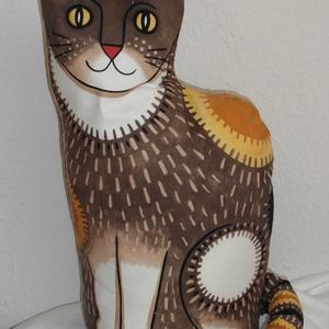 Macska  párna - Meska.hu