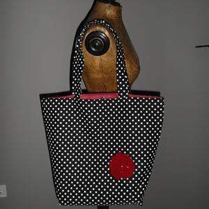 Pöttyös vízhatlan táska (vighilda) - Meska.hu