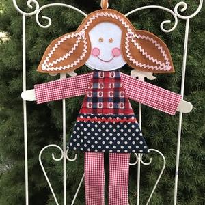 Csattartó Panni , Játék & Gyerek, Plüssállat & Játékfigura, Más figura, A vidám textilekkel, a baba mosolygós pofijával bájos dekorációja lehet a kislány szobáknak. Emellet..., Meska