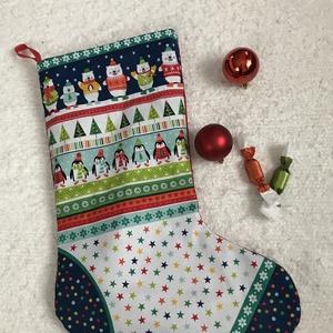 Óriás Mikulás csizma, Karácsony, Mikulás, Mikulás zsák, zokni, csizma, Varrás, Meska
