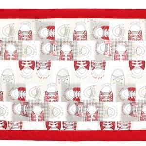 Falvédő, Otthon & Lakás, Lakástextil, Falvédő, Jó minőségű pamutvászonból, vatelinnel bélelve készítettem a falvédőt. Méret:200X75 Hátsó bújtatók s..., Meska