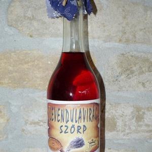 Levendulavirág szörp, Szörp, Kulinária (Ízporta), Élelmiszer előállítás, Levendulavirágból készült szörp, Meska