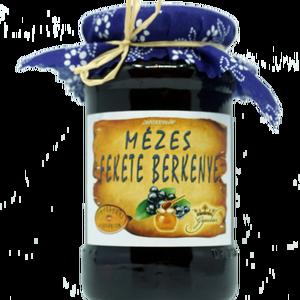 Mézes fekete berkenye, Lekvár, Élelmiszer, Élelmiszer előállítás, Összetevők:\n\nfekete berkenye, méz, cukor (7%), sűrűsítő: Stabark növényi sűrűsítő, tartósítószer: ká..., Meska