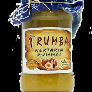 Rumba – nektarin rummal, Kulinária (élelmiszer), Lekvár, Élelmiszer előállítás, Összetevők:\nnektarin , cukor (12%), rum, sűrűsítő: Stabark növényi sűrűsítő ,tartósítószer: kálium-s..., Meska