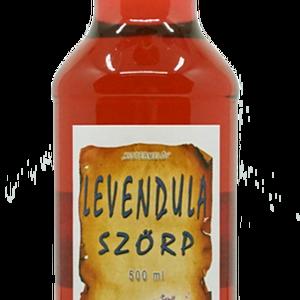 Levendulavirág szörp (500 ml), Szörp, Élelmiszer, Élelmiszer előállítás, víz, levendulavirág, cukor, bodzabogyó, étkezési sav: citromsav, tartósítószer: kálium-szorbát..., Meska