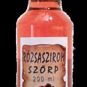 Rózsaszirom szörp (200 ml), Élelmiszer, Szörp, Összetevők: víz, cukor, rózsaszirom, étkezési sav: citromsav, tartósítószer: kálium-szorbát..., Meska