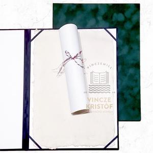 DÍSZMAPPA, velúr borítás, személyre szabható, A5, A4 és A3 méretekben rendelhető dísztok, Otthon & Lakás, Papír írószer, Mappa, Könyvkötés, AMIT ÁTADHAT\nÜnnepségek és díjátadók alkalmára igényes velúr mappákat, dísztokokat készítünk, hogy e..., Meska