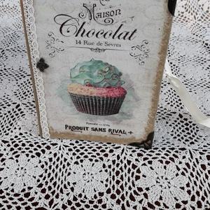Receptfüzet muffin mintával (vintageajandek) - Meska.hu