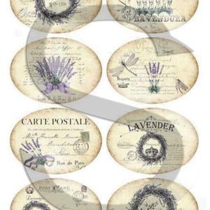 Vintage címkék 1., Papír, Decoupage papír, Decoupage, szalvétatechnika, Decoupage minták, A 4-s méretű rizsnyomat, vékony 20 gr-s rizspapíron, découpage technikához. Az eredeti nyomatot vízj..., Meska