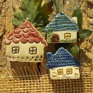 Apró házak, Otthon & Lakás, Ház & Kert, Kerti dísz, Kerámia, Szobrászat, Az apró házikók mindig elvarázsolnak,akár fából,akár kerámiából készülnek.Otthonosak,bájosak,szeretn..., Meska