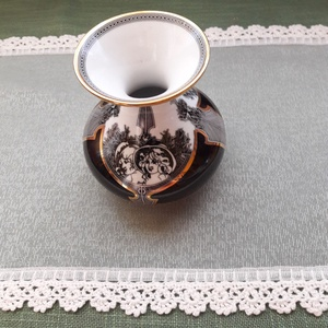 Vintage hatású kis terítő törtfehér(beige) színben (Viola14) - Meska.hu