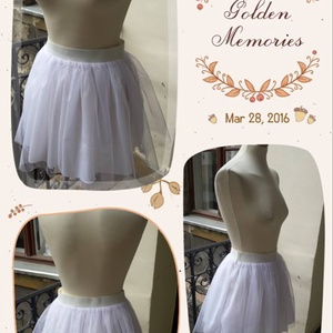 White Swan - tüll szoknya, Táska, Divat & Szépség, Női ruha, Ruha, divat, Szoknya, Varrás, Szuper trendi, elegáns tüll szoknya, ünnepi alkalmakra, partikra, vagy bármely különleges rendezvény..., Meska
