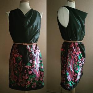 Japán kert ruha, Ruha, Női ruha, Ruha & Divat, Varrás, Romantikus mintával ellátott taft anyagból készült modell. Mérete 38/40. \nIdeális viselet különleges..., Meska