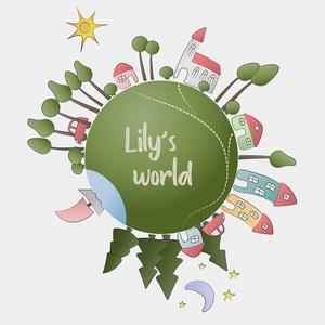 Az én kis világom - kép gyerekszobába, Otthon, lakberendezés, Baba-mama-gyerek, Gyerekszoba, Baba falikép, Fotó, grafika, rajz, illusztráció, Egy egész kis világ épületekkel, járművekkel, erdővel, tóval. A